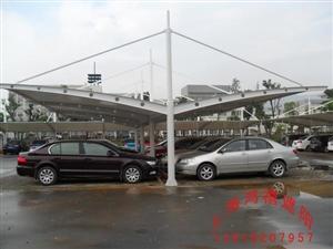 南京膜结构车棚(停车蓬)-案例分析