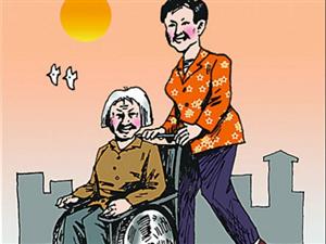 """90后小伙推轮椅上的奶奶游北京:""""尽孝不能等"""""""
