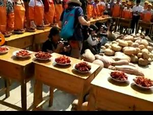 ��村�l南岸村首次�e�k南瓜果美食盛宴!