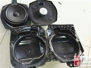 重庆乐车坊汽车音响改装 宝马GT320I改装艾索特三分频喇叭+艾索特功
