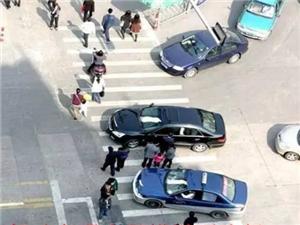 县城区交通秩序百日集中整治行动开始了