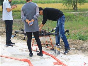 镇赉县水稻应用旺得丰牌微生物土壤改良剂-春吉航空植保无人机现场观摩会