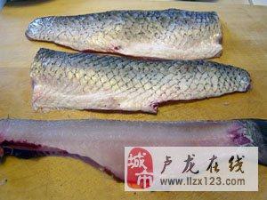 水煮鱼的切法