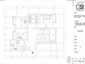 江北威尼斯12街区三室两厅简约风装修预算-桥北一号家居网靠谱用心设计
