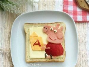 创意早餐图片:最爱妈妈做的早餐!这么萌的早餐根本舍不得吃啊!