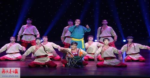 盟民族歌舞团将赴斯里兰卡演出;
