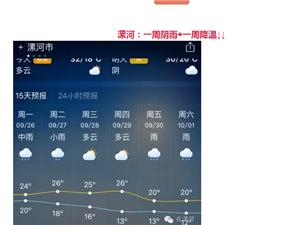 漯河下周雨雨雨雨+降温!新一轮冷空气袭击河南,局部有中到大雨!