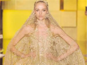 巧用配饰让你的婚纱变得更美1