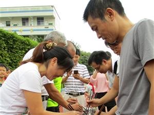 强身健体营造温馨团队   心手相连构建和谐学校