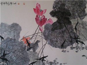 刘心       国画组图