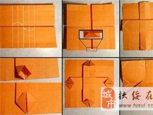 教你一张纸折一个纸盒子~