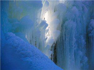 平泉又一景-辽河源冰瀑