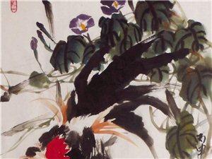 画家刘志红  鸡画组图