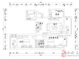 【南京苹果装饰实景案例】欣欣茗园110�O简欧风格