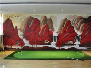 手绘背景墙手绘家装免费设计