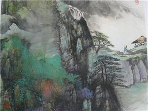 刘安健国画山水