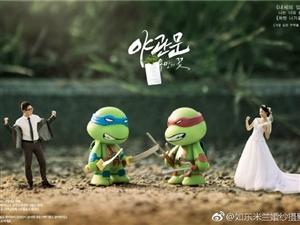 澳门太阳城平台米兰婚纱摄影——-创意婚纱