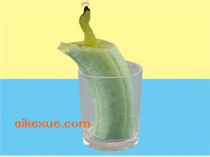 爱科学小实验:香蕉蜡烛,你听过吗?