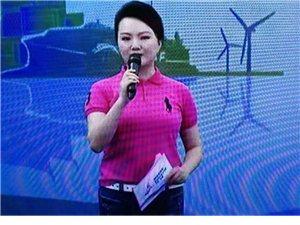 """七绝、林瑛陶双语主持""""海洋杯""""中国.平潭国际自行车公开赛"""