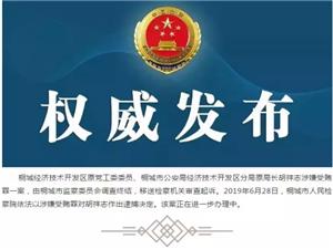 桐城市人民�z察院依法��胡祥志�Q定逮捕