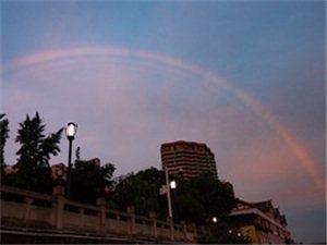 �V�h上空的彩虹