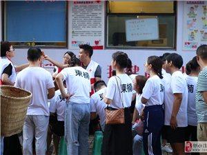 �嵫�澎湃!一大群年�p男女聚集在�水�r�Q市�雠裕�只�榫璜I造血干�胞…