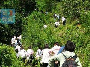 山体垮塌阻断学生赶考路,汉中这些学生……