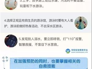 注意!!!滁州人一定要看的夏季儿童防溺水!