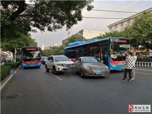 20190705:《随意变道》发生在城中城北路口的交通事故!!