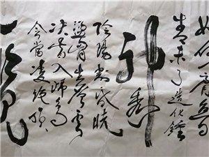 20190708:鲁阳先生的一幅书法作品欣赏!!!