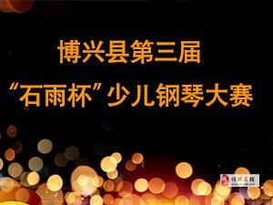 """博兴县第三届""""石雨杯""""少儿钢琴大赛"""