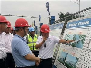 滁宁城际铁路施工现场调研