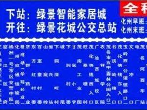什么情况?化州某路公交车开通之日便被紧急叫停了?