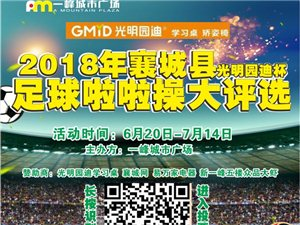2018美高梅平台县足球啦啦操网络评选活动