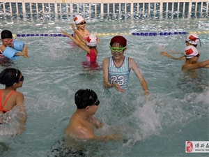 """避暑迎""""三伏"""",在�W�游泳中找到�g�贰�…"""