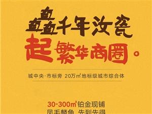 【绿洲・望嵩文化广场】矗千年汝瓷,起繁华商圈