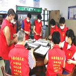 衢州名门世家文化研究院、澳门赌博网站传统文化义工队在塘源口敬老院送温暖活动