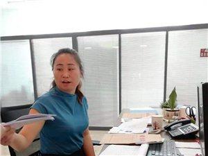 热情为人民服务的辉南县新农合窗口美女