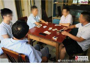 """桐城警方为打击整治""""黄赌毒""""违法犯罪再添一战果"""