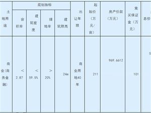 桐城一宗国有土地使用权招标拍卖成交公示!