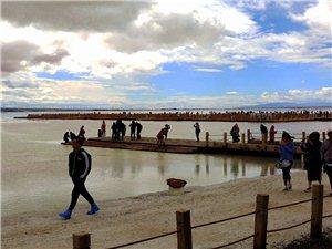 茶卡盐湖之美