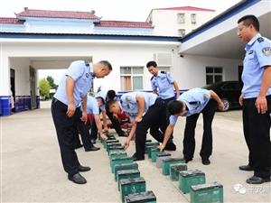 作案21起!潢川民警成功抓获一名盗窃惯犯,收缴电动车电瓶84块!