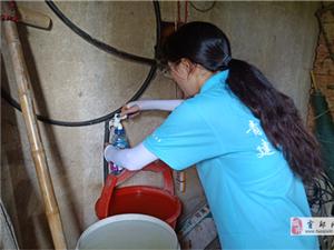 巢湖学院精准扶贫实践团于大墩村开展水质检测