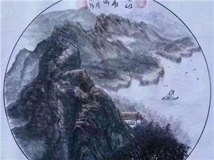 【巴彦网】中国布画非物质文化遗产传承人杨山-布画力作十二幅