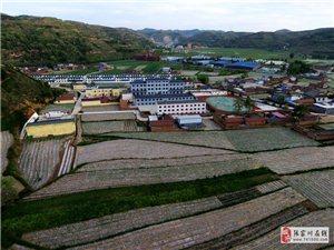 【航拍张家川】胡川镇中心小学现在变得真耐看