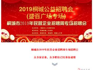 关于举办7月20日盛百广场专场招聘会的通知