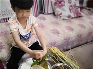 莒县8岁的车荣杰,是个小暖?#26657;?</a