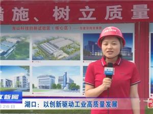 厉害了!湖口成为九江首个财政收入破40亿的县,还获全省工业高质量发展先进县....
