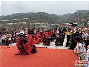 中国伊尹美食文化节暨岔峪河灯祈福节活动在百良镇盛大举行