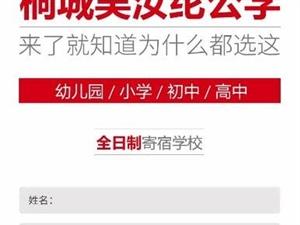 桐城�侨昃]公�W2019(幼��@-高中)招生�章 新